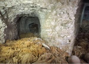 صوره لأحد الأفران المكتشفة