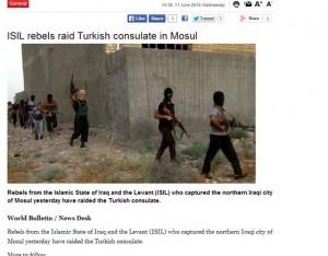 الصحيفة التركية
