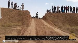 هدم الحدود  بين سوريا والعراق