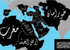 خريطة داعش