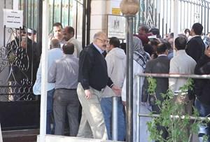 جانب  من وقفة المصريين  بالكويت
