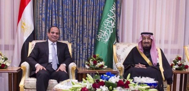 السيسى وملك السعودية