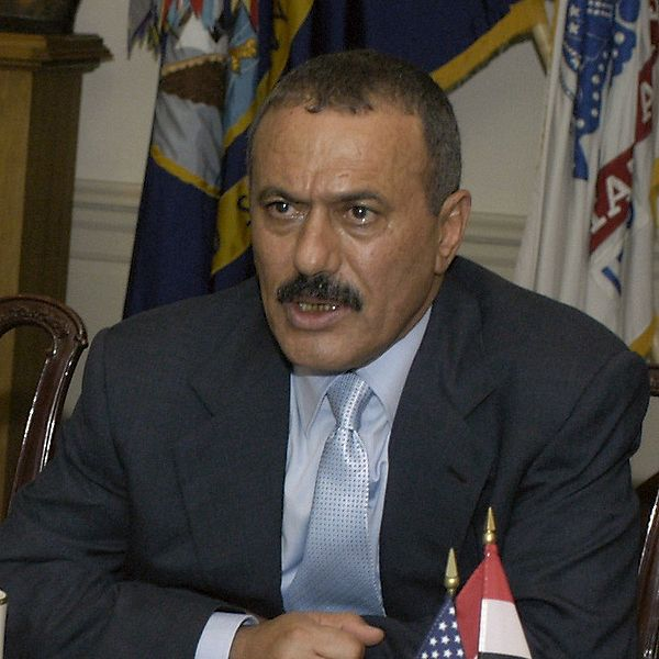 عبد الله صالح الرئيس اليمنى السابق