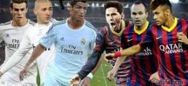 ننقل لكم علي الهواء مباشرة مباراة برشلونة وريال مدريد تعليق عصام شوالي