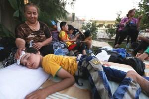 الأسر المهجرة
