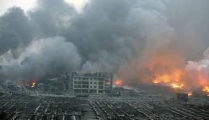 انفجارات مروعة بمنطقة صناعية في الصين