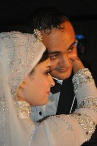 العريس مع عروسه