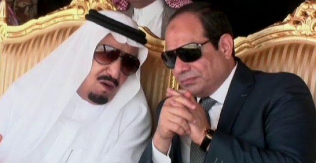 الملك سلمان والسيسى
