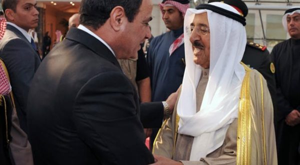 امير الكويت والسيسى