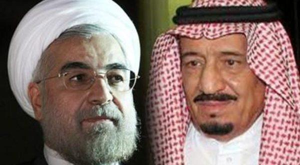 الملك سلمان ورئيس إيران