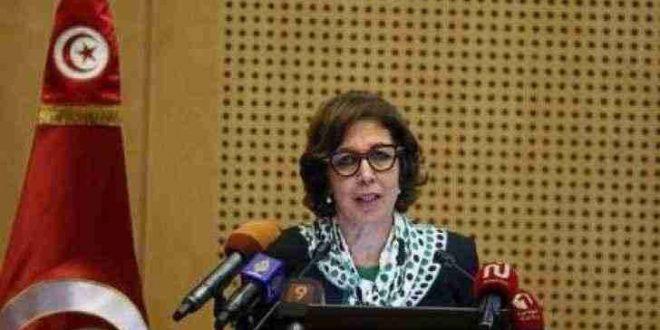 وزيرة المالية التونسية