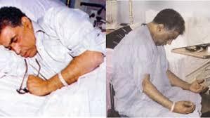 أحمد زكي في مرضه