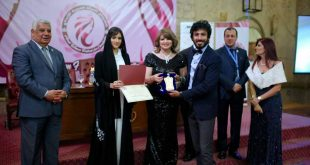 تكريم رامي أنور بمهرجان المرأة العربية للإبداع