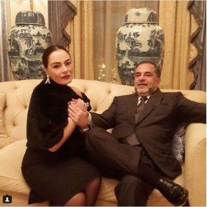 شريهان مع زوجها
