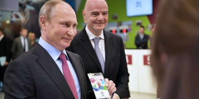 بوتين في المونديال