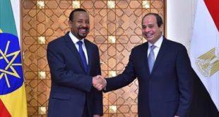 السيسي ورئيس الوزراء الإثيوبي