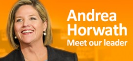 Andrea Horwath Leader of NDP