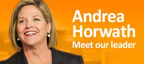 Andrea Horwath Leader of NDP