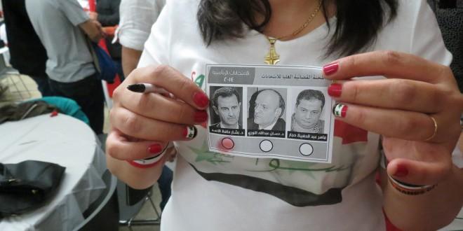 سورية تبصم بالدم وتختار الأسد