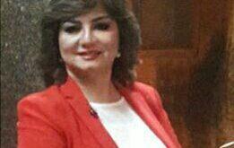 """د. """" آمال إبراهيم """" ـ رئيسة المهرجان"""