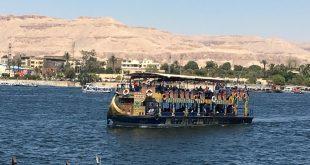 مركب فى النيل